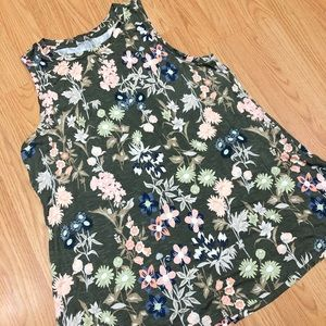 Maurice's floral tank